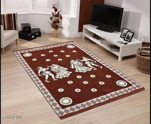 Medium Weight Carpets New Attractive Chenille Carpets  *Material* Chenille  *Pattern* 3d Printed  *Multipack* 1  *Sizes* Free Size (Length Size  *Sizes Available* Free Size *    Catalog Name: New Attractive Chenille Carpets CatalogID_737032 C55-SC1723 Code: 684-5018785-