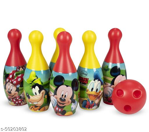 BABY BOWLING TOY SET ( MULTI COLOR )