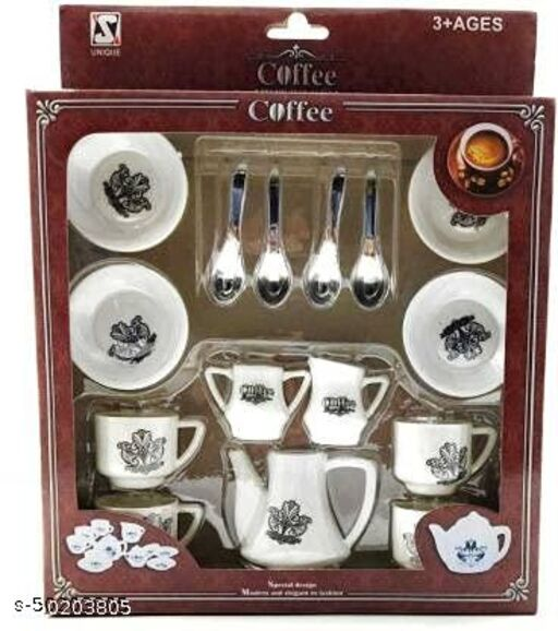 BABY COFFEE SET TOY ( MULTI COLOR )