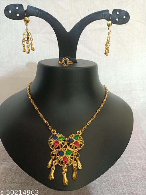 Elite Bejeweled Jewellery Set
