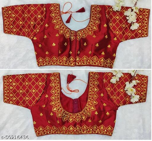 Bridal Collection FULLI DesignEmbroidery Work Ready Made Blouse