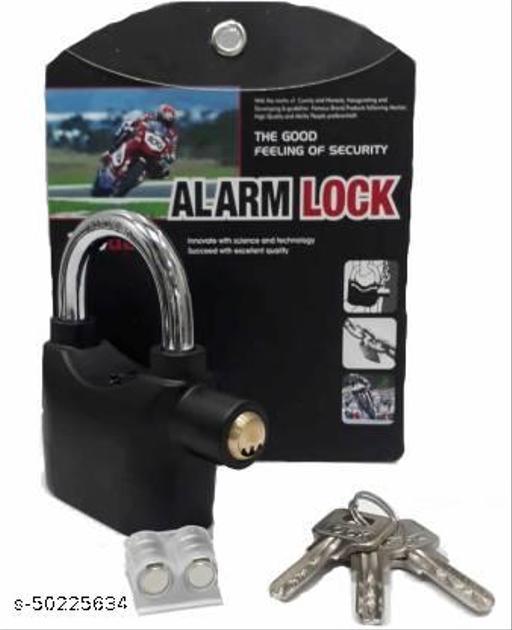 Anti Theft Motion Sensor Alarm Lock (Black) Anti Theft Motion Sensor Alarm Lock (Black)