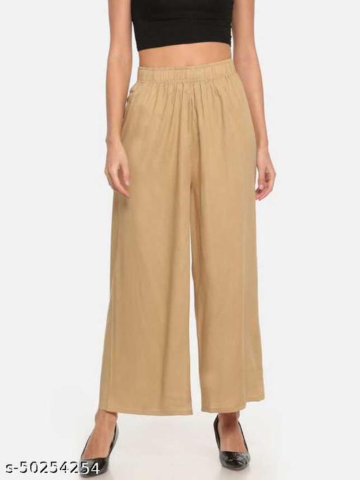 Fashionable Modern Women Palazzos