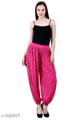 Trendy Fashionista Women Patiala Pants