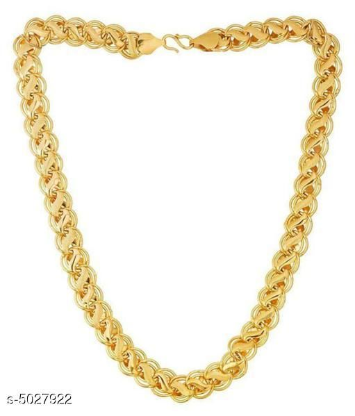 Trendy Brass And Alloy Men's Chain