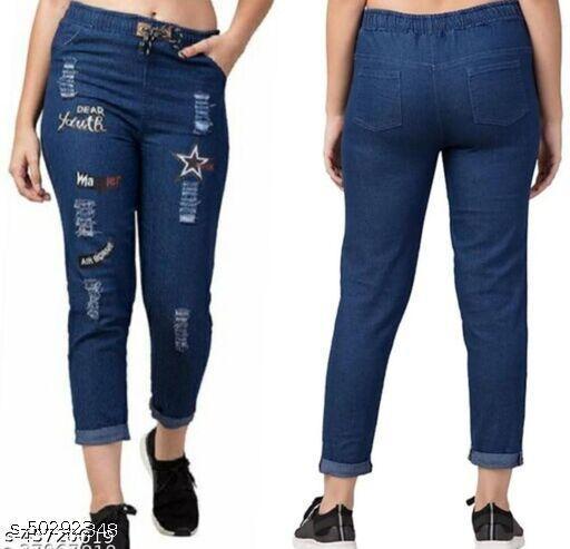 Comfy Glamorous Women Jeans
