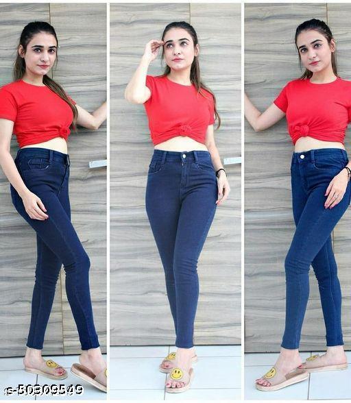 Comfy Graceful Women Jeans
