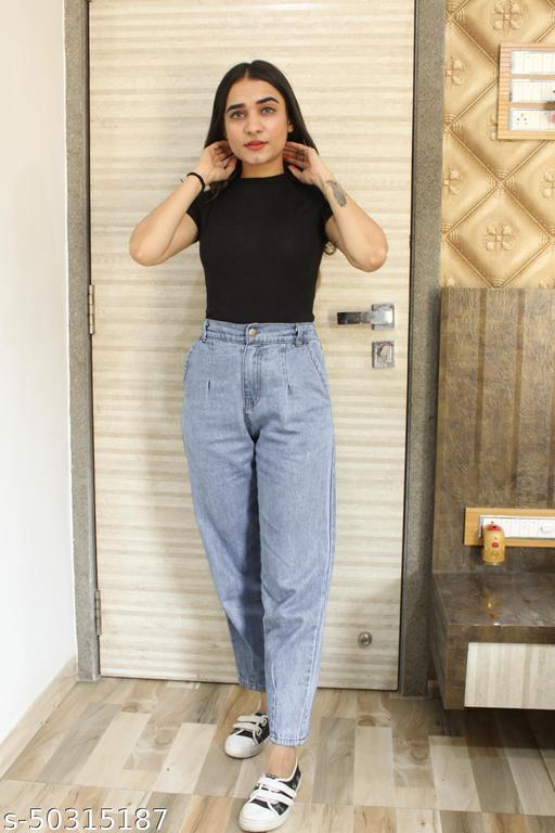 Comfertable back side Elastic Jeans