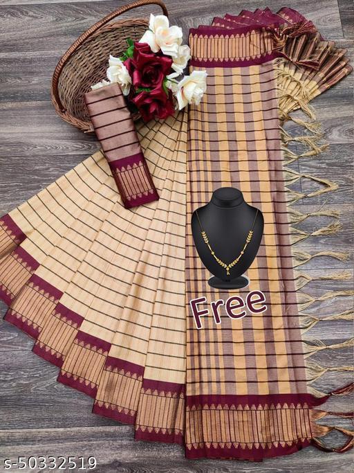 Swara Designer Jacqard Cotton Silk Saree