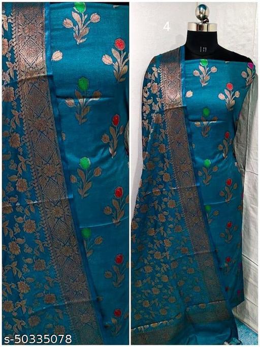 Banarasi Silk  Suit & Dress Materials