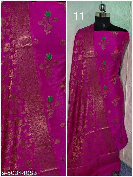 Banarasi Silk Suit