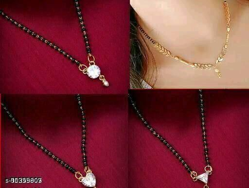 Buy 2 Get 2 Free Jewellery Combo Necklace Set For Women