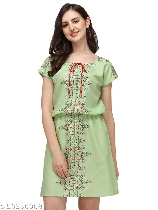 Diwali Special desinger Rayon sulb printed Dresses for women