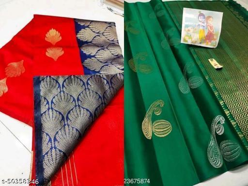 Women's Banarasi Silk Combo Pack Saree