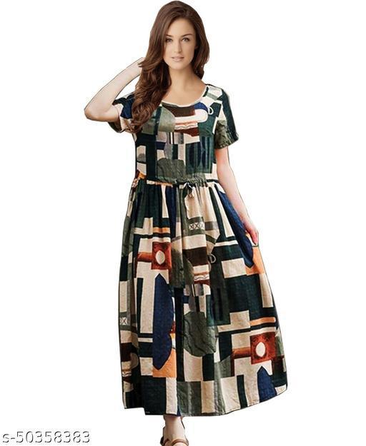 Namnish Women Pragnancy Cotton Dresses