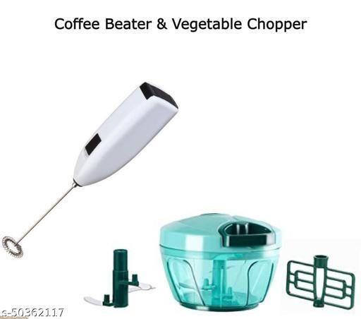 Coffee Beater & Vegetable Chopper