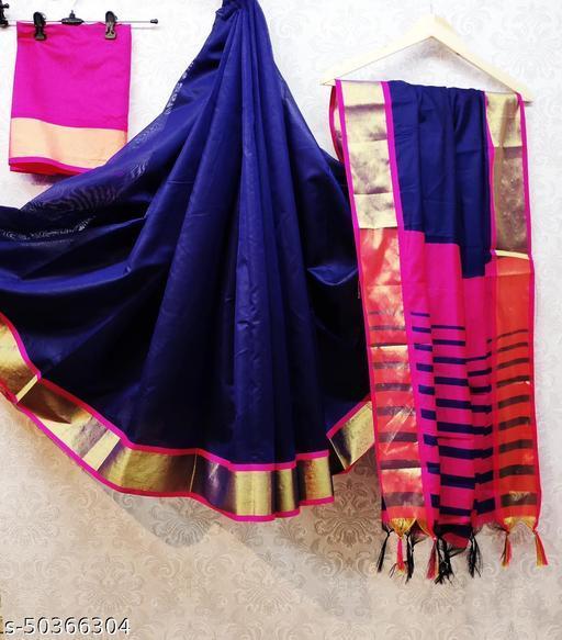 New Soft Cotton Slik Saree