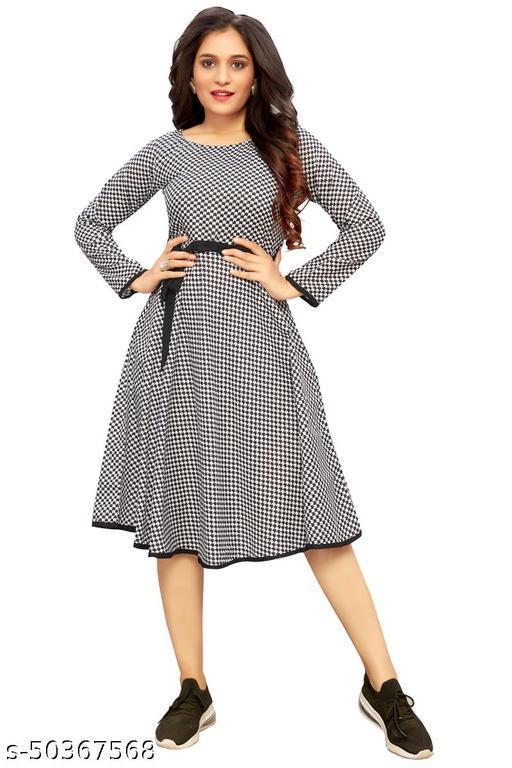 Namnish Women Western Knee-length Midi Dress