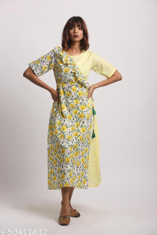 Gendaphool Angrakha Dress