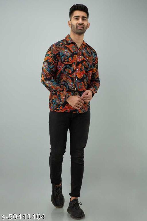 Keri Printed Full Sleeves Shirt For Men