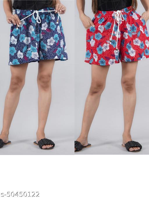 Gorgeous Glamarous Women Shorts