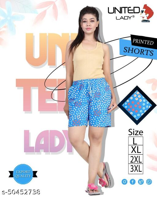 Fashionable Trendy Women Shorts