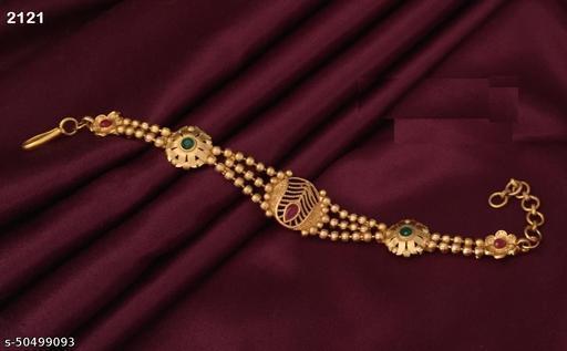 Stylish Brass Gold Bracelet for Women