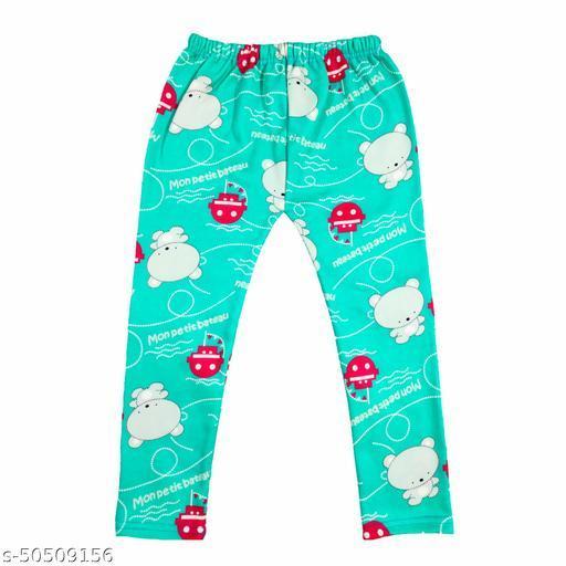 Kids printed winter pajamas lower