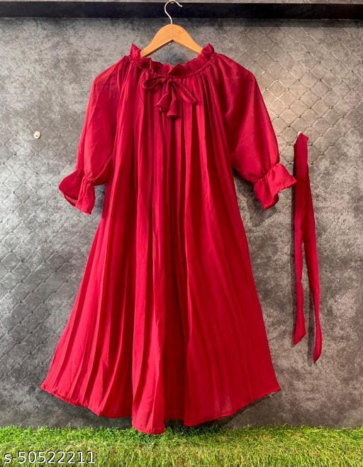 TRENDY ALINE DRESSES