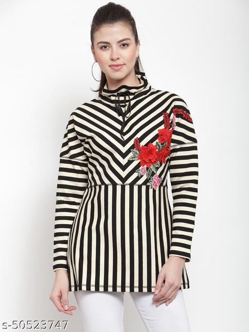 Armure Women's Multicolor Striped A-Line Dress