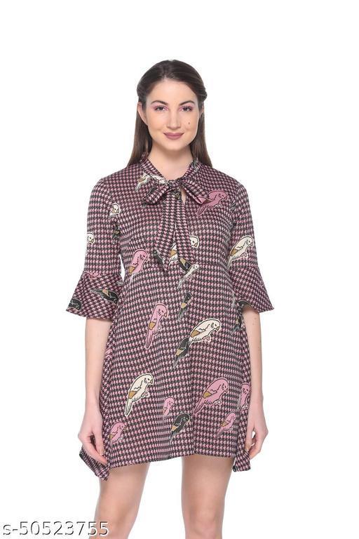 Armure Women's Multicolor Printed A-Line Dress