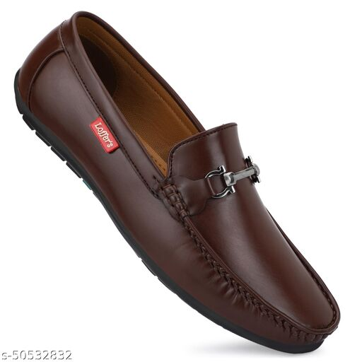 STEPFEET Men's Stylish Synthetic Leather Loafers
