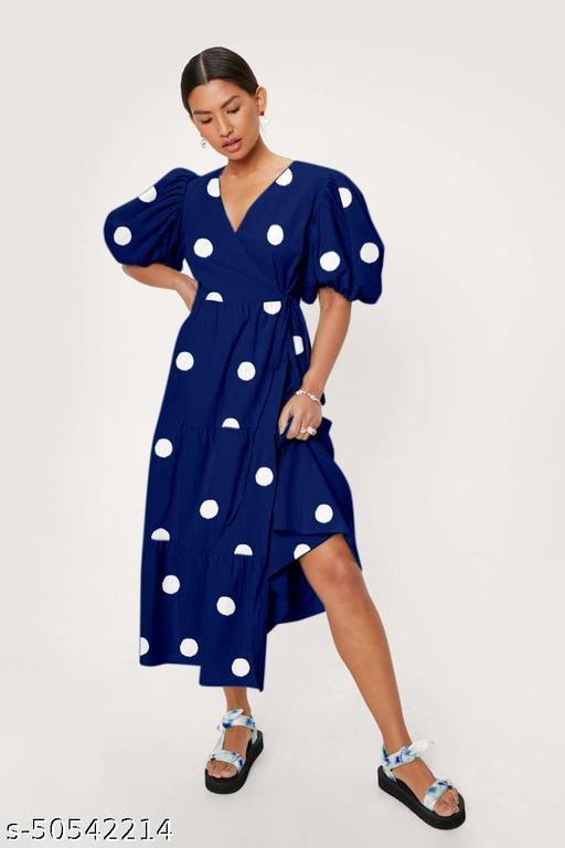 GRC ENTERPRISES Maxi Women Midi Dresses