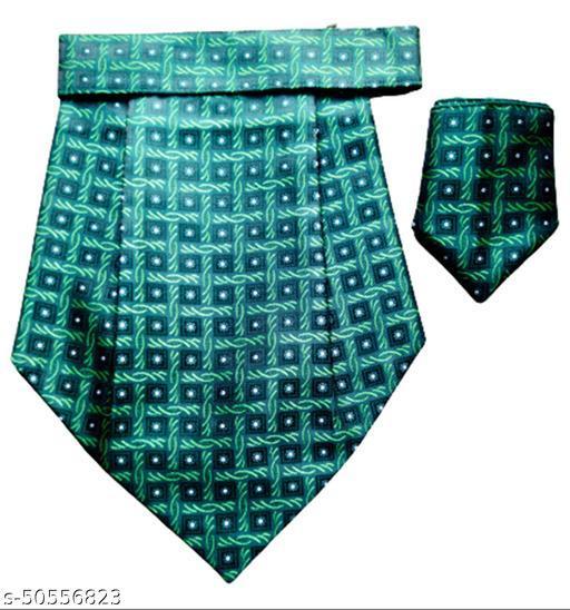 Voici France Men's Cravat Necktie with matching Pocket Square