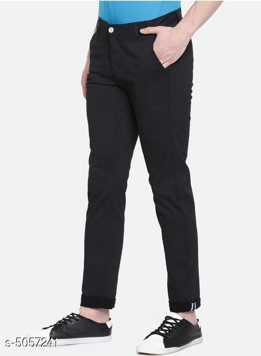 New Stylish Cotton Men's Trousers