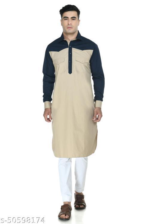 Design Trend Men's Premium Designer Cotton Ethnic Kurta