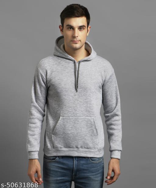 Christy World Hooded Full Sleeves Men Sweatshirt