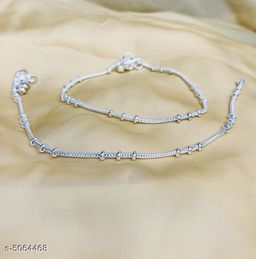 Women's Silver Plated Anklets & Toe Rings