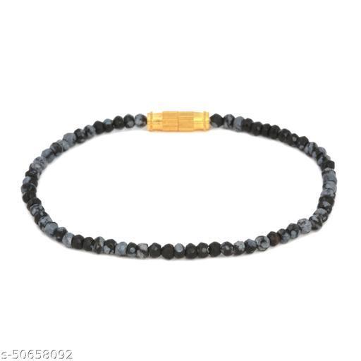 Ratnavali Arts Natural Multi semi precious Gemstone Thread Bracelet For Woman
