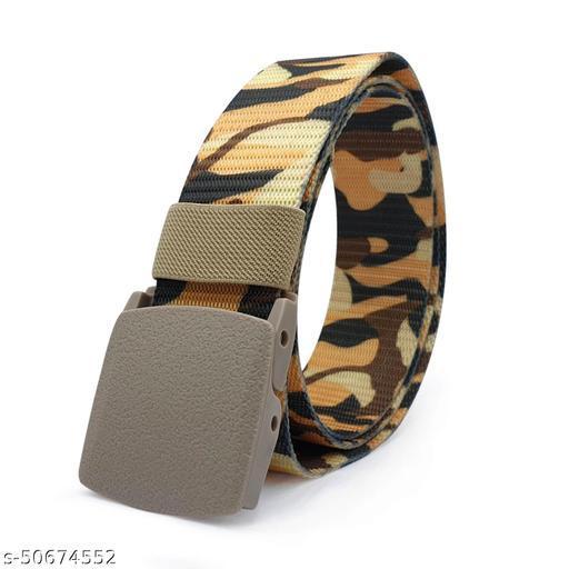 Unisex Nylon & Canvas Waist Belt