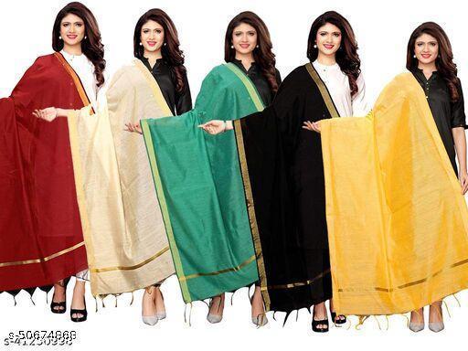 Deetya Art's Presents Gorgeous Fancy Woman Dupattas