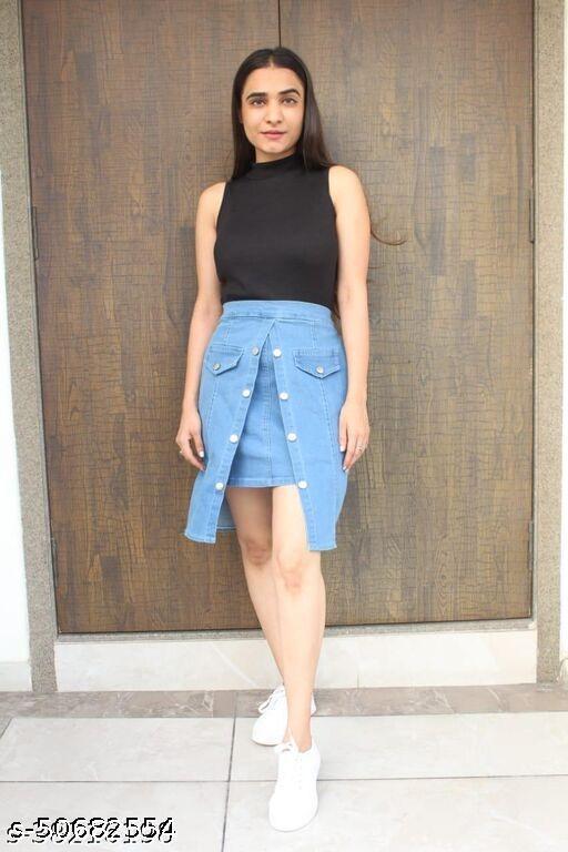 Elegant Unique Women Skirt