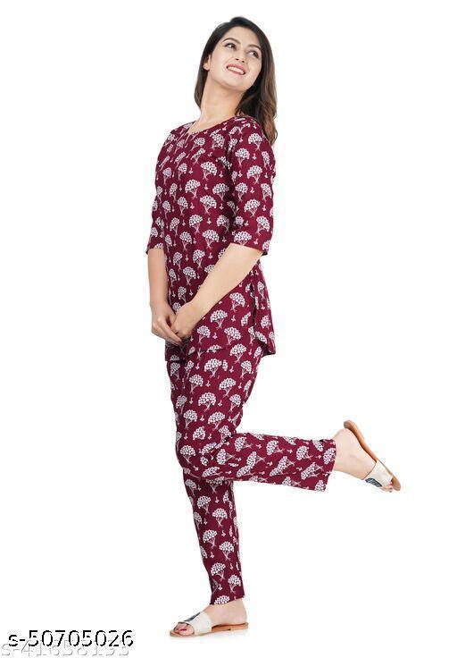 Siya Stylish Women Nightsuit