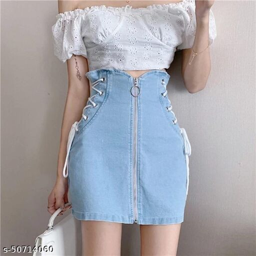 Imported western skirt