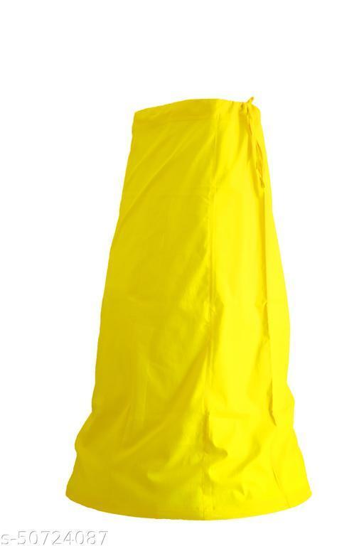 Neepsa Premium Double stitch Lemon Yellow Petticoat