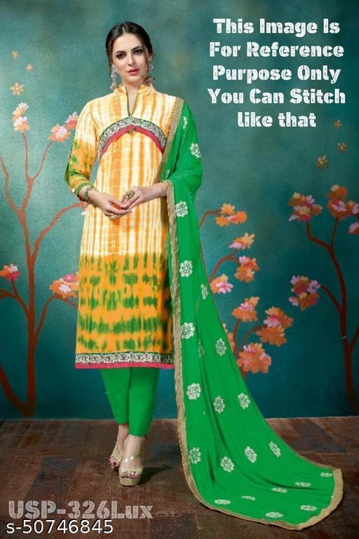 Style Samsara Women's Unstitched Kurta Set with Dupatta