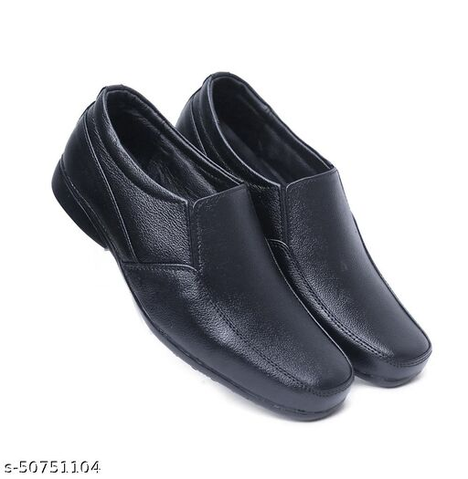 Genuine Leather Black Formal shoe For men