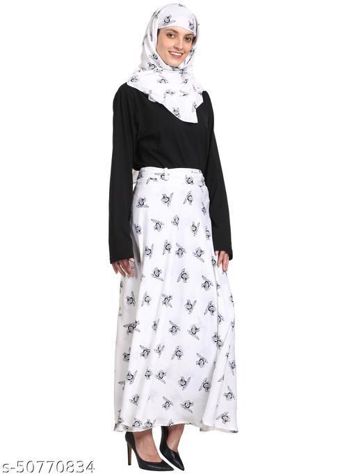 skirt hijab set wrap around skirt for women free size