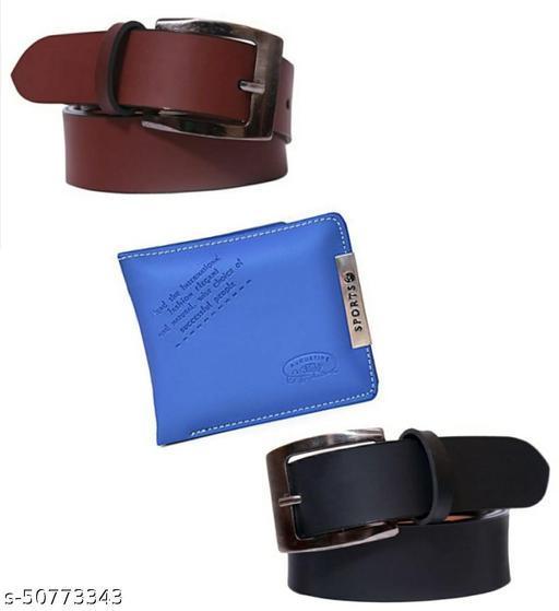 k fashion mall fashionable  combo of 3/Belts Combo
