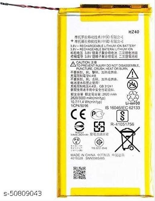 Divleen Compatible Mobile Battery for Motorola Moto Z2 Play XT1710 HZ40 3000 mAh
